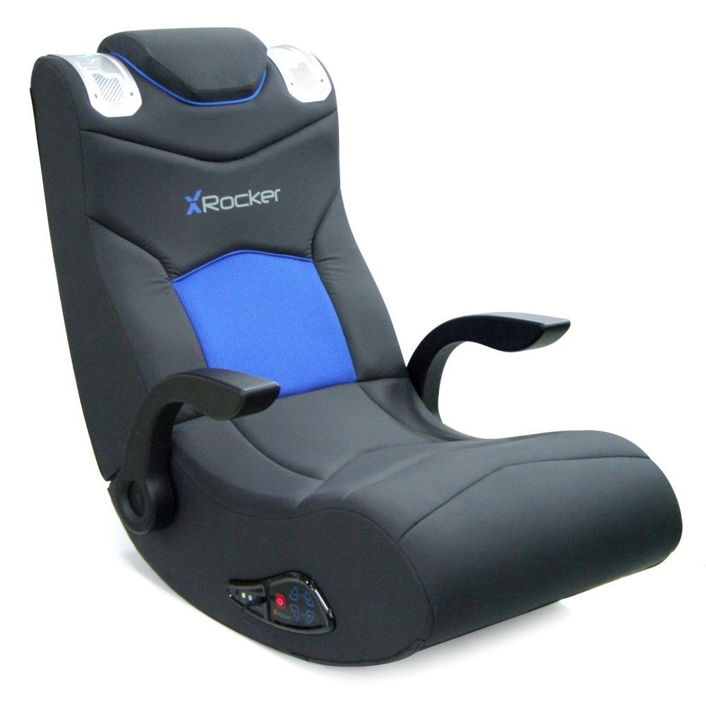 X-Rocker Ice Video Rocker Game Chair