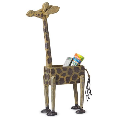 giraffe shaped box