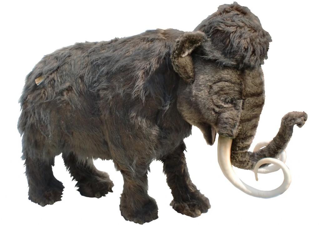 gigantic plush mammoth for sale