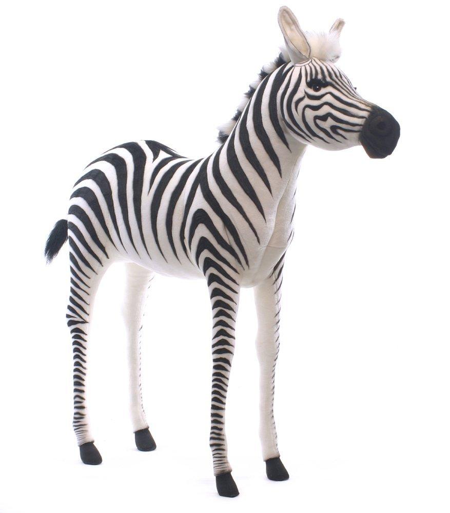 cute stuffed zebra