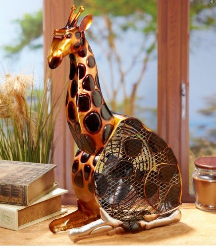 giraffe table fan