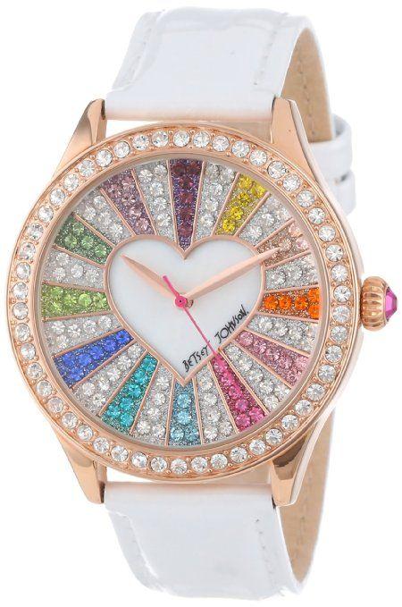 rainbow heart watch