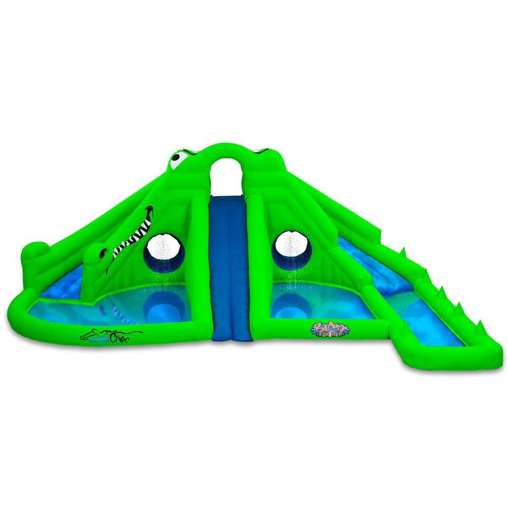 Blast Zone Ultra Croc Huge Inflatable Water Park