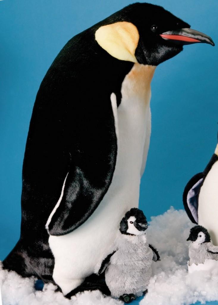 "Large Emperor Penguin 33"""