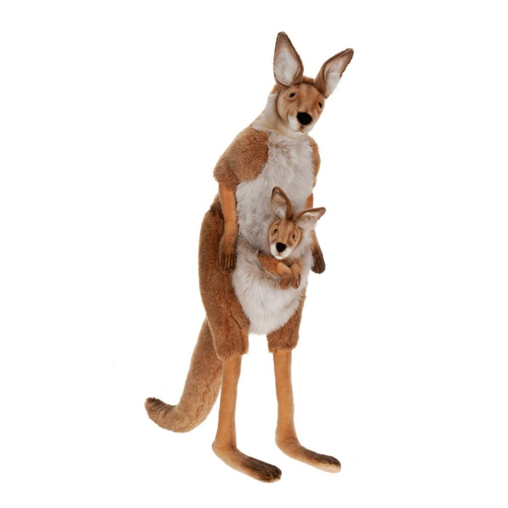 cute life size stuffed kangaroo