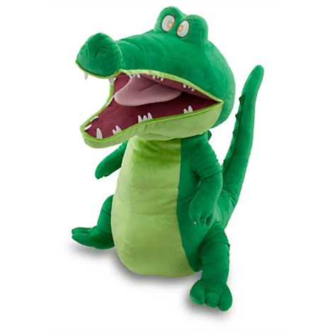 plush crocodile from the Peter pan movie