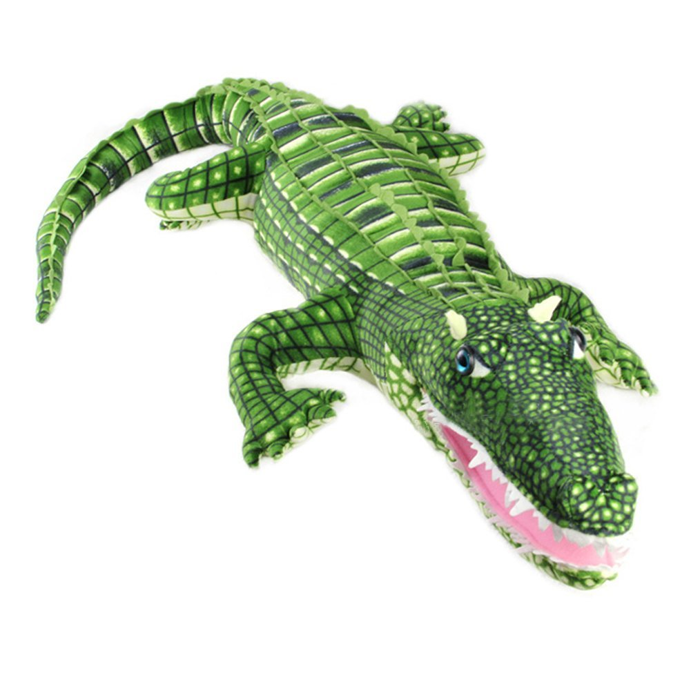 Unique Huge Crocodile Alligator Stuffed Plush Toy