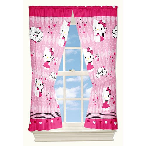 Gardine kinderzimmer hello kitty 5706549