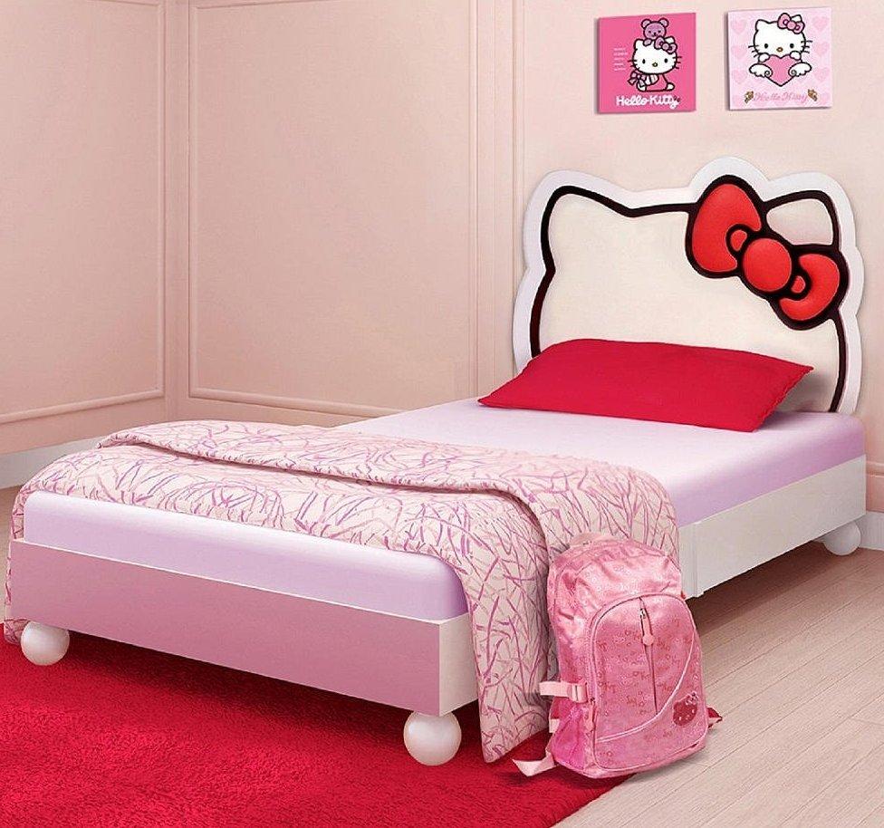 Hello Kitty Bedroom : Cutest Hello Kitty Bedroom for Girls!