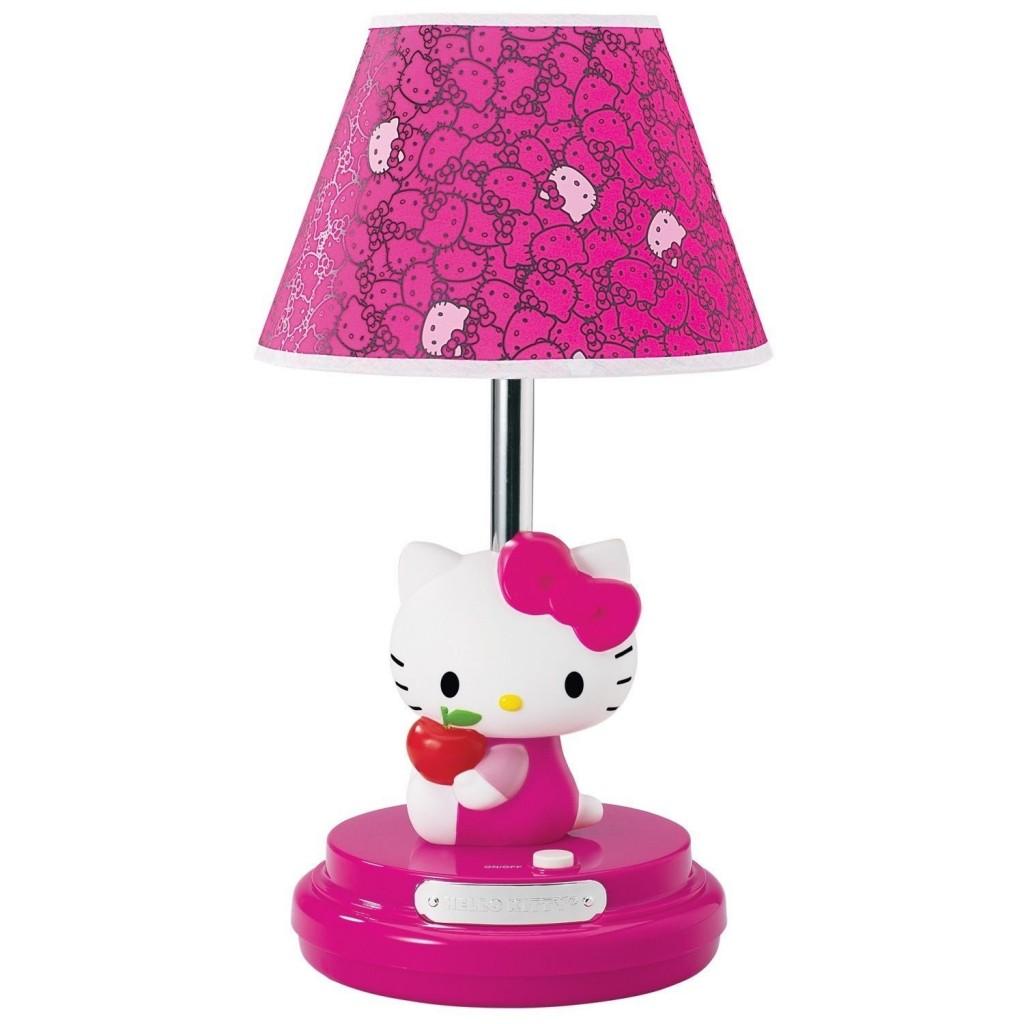 Hello Kitty Lamp for Girls
