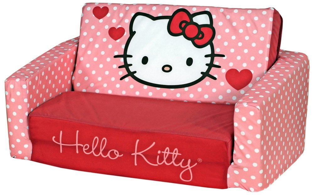 Hello Kitty sleeper sofa for kids
