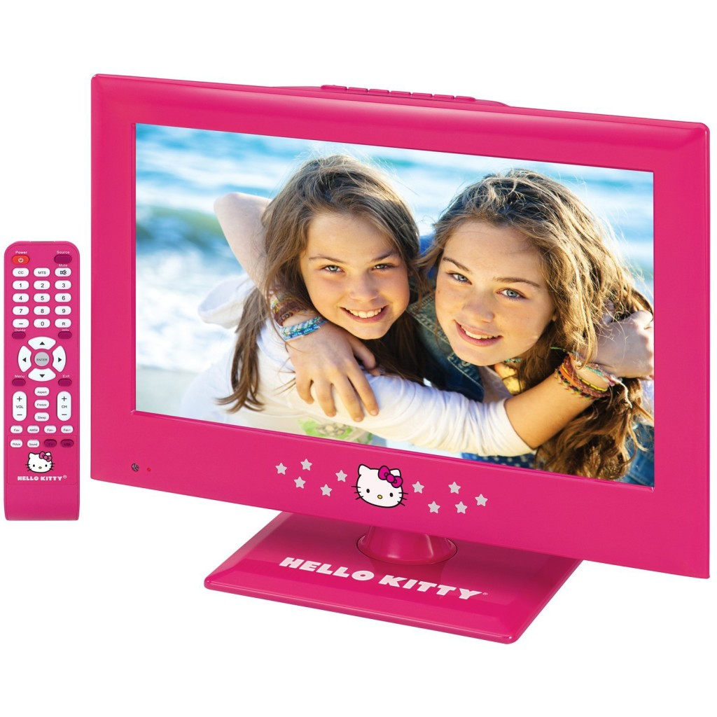 Cute Pink Hello Kitty TV