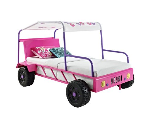 Twin Buggy Bed Pink