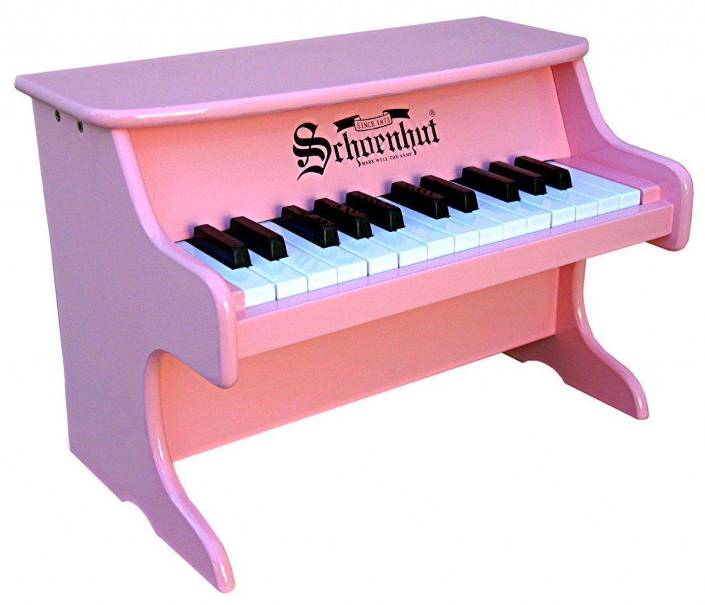 adorable baby pink piano