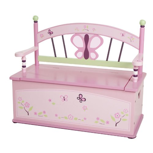 butterfly Toy Box Bench