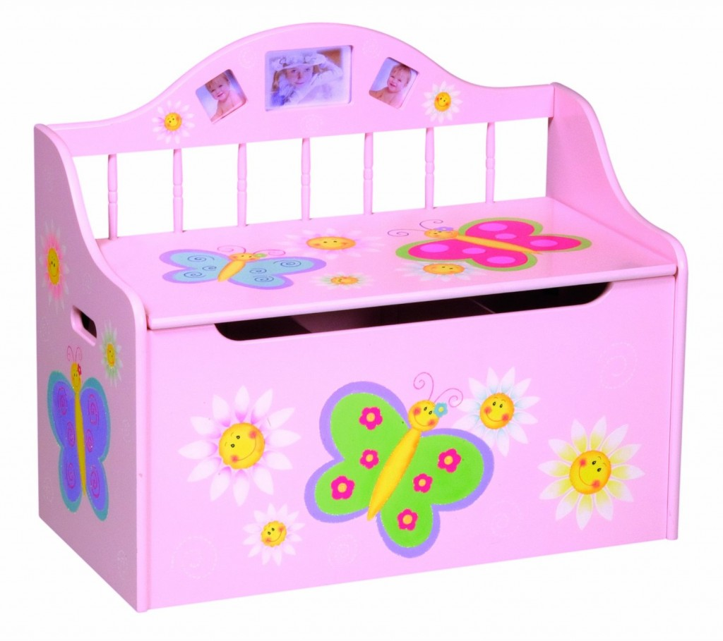 GuideCraft Butterfly Collection Toy Box