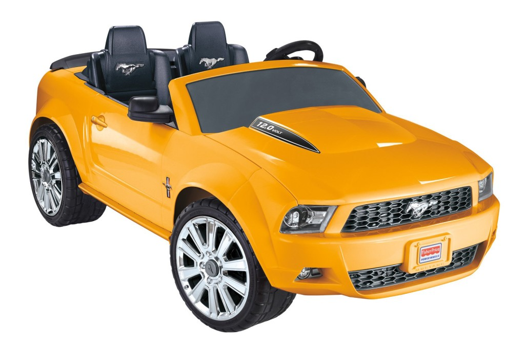 Fisher-Price Power Wheels Ford Mustang Yellow