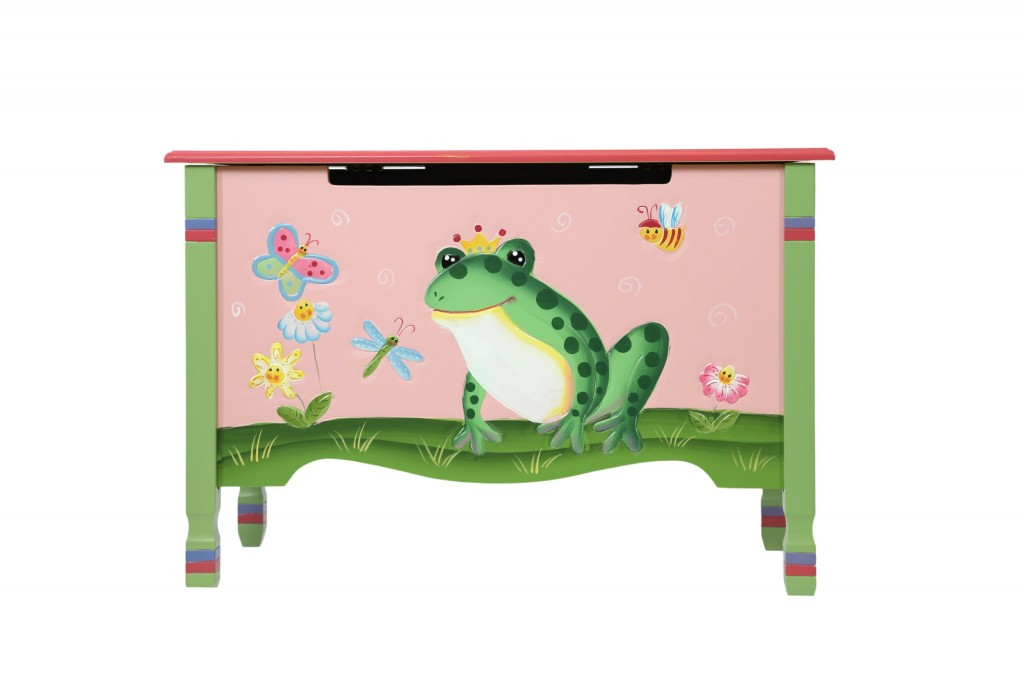 frog prince toy chest