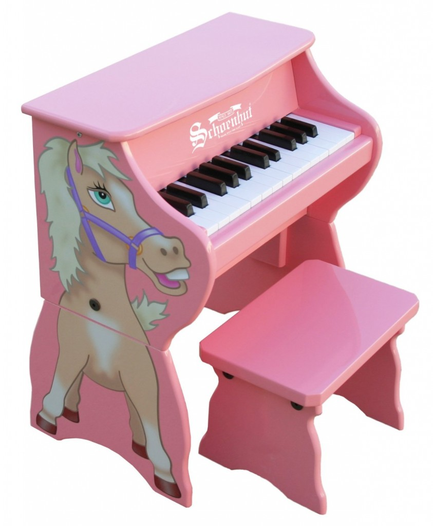 pink toddler pianos for girls