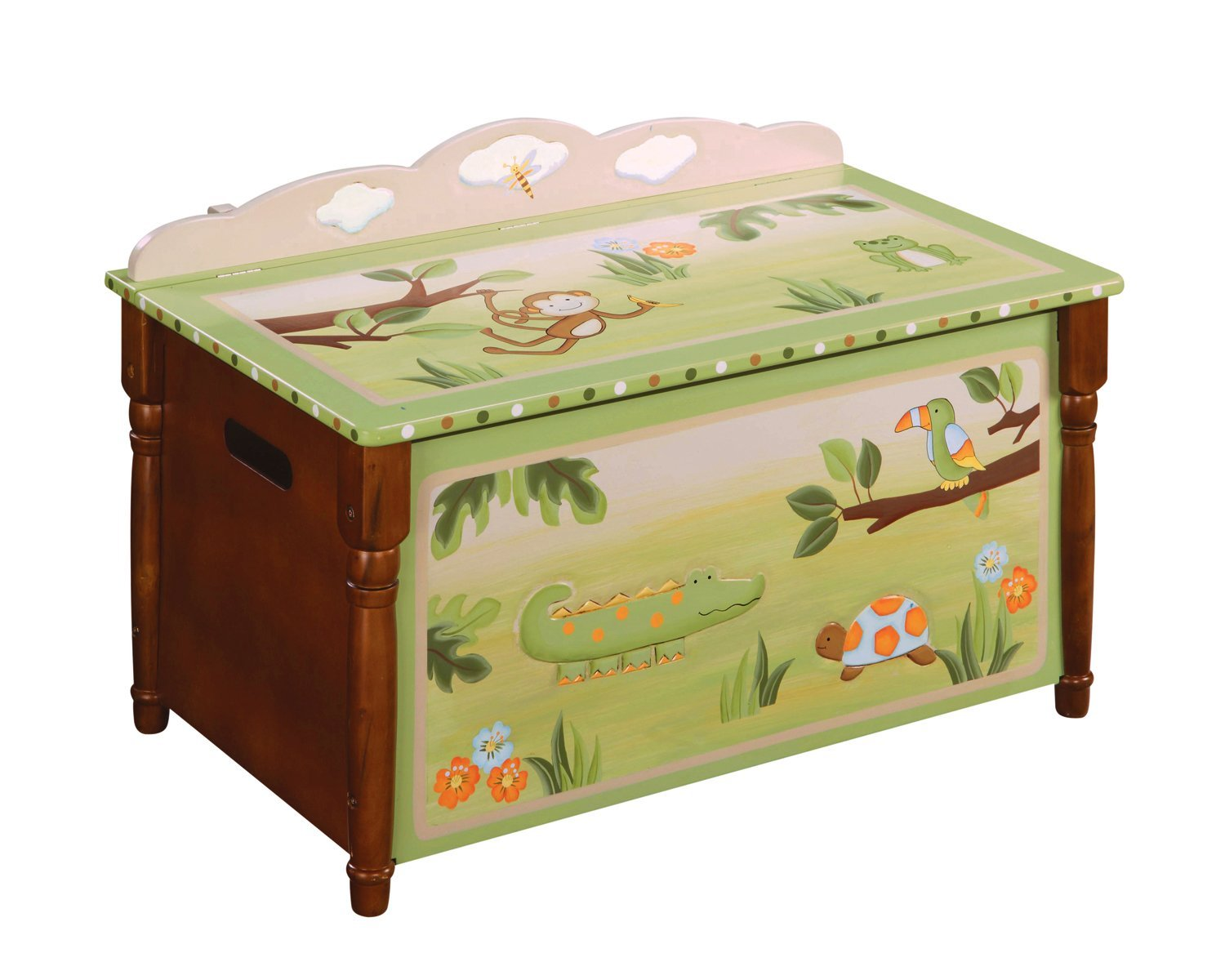 jungle toy chest for kids