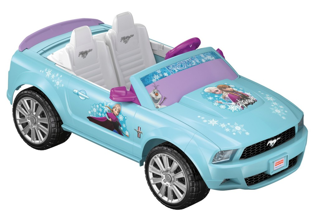 Cool Disney Frozen Mustang Car For Girls
