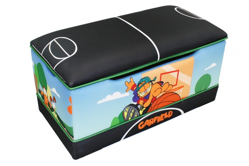 Garfield Toy Box For Boys. Fun Garfield Toy Box