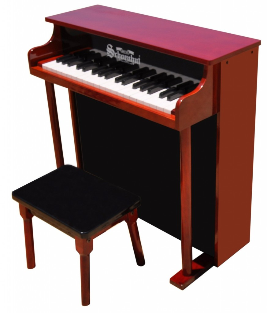 upright child piano