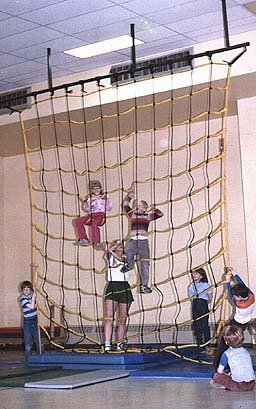 Cool Indoor Climbing Net