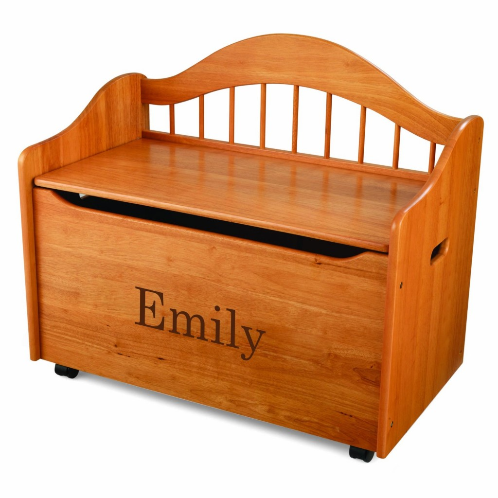 Lovely Personalized Wood Toy Box For Children
