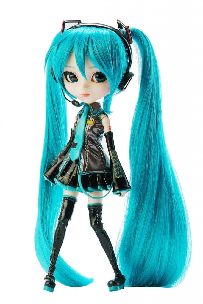 Hatsune Miku Vocaloid Pullipd Doll