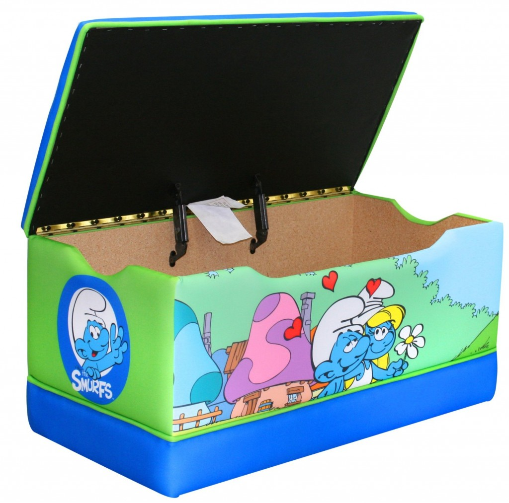 Smurfs toy box for kids