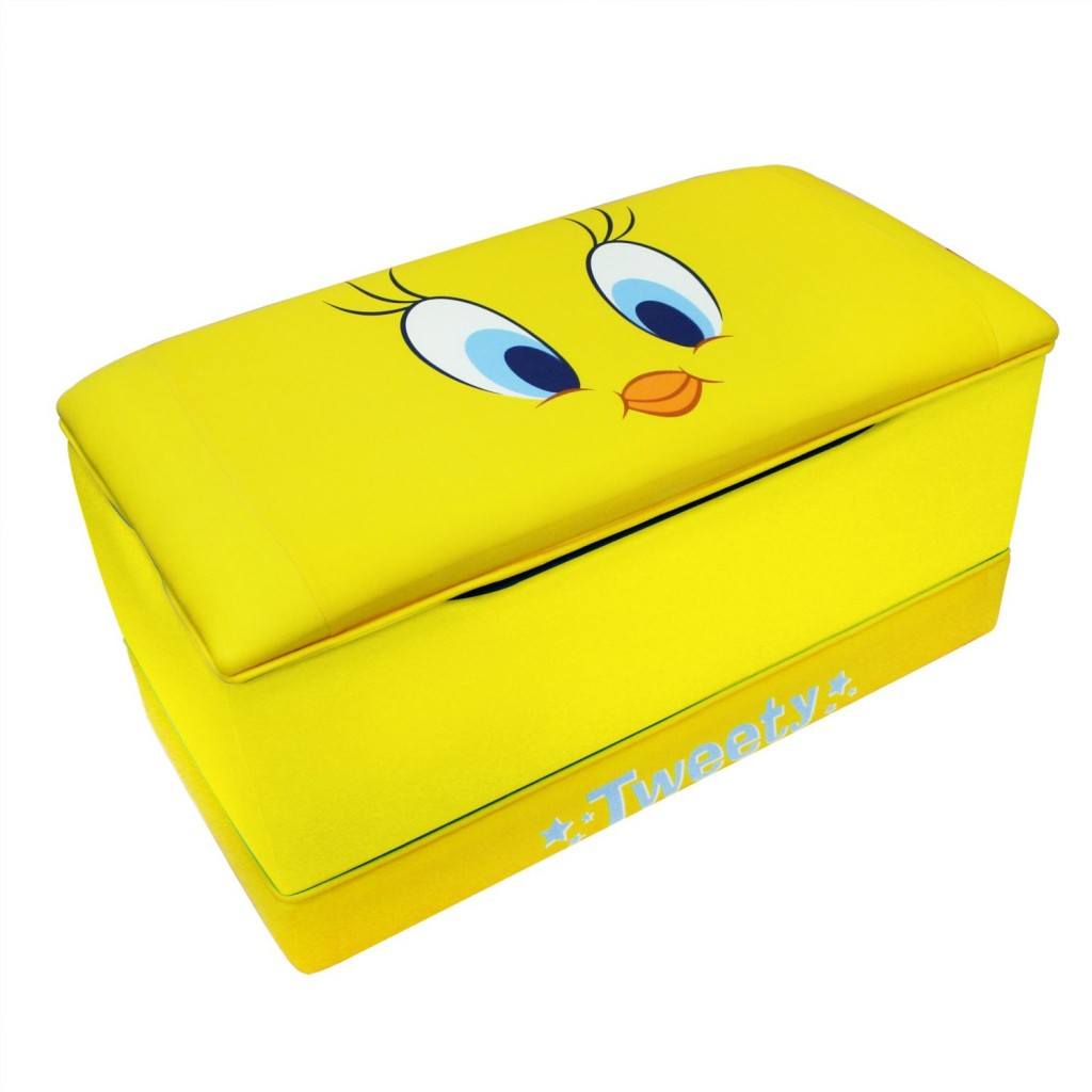 cute tweety bird toy box for kids