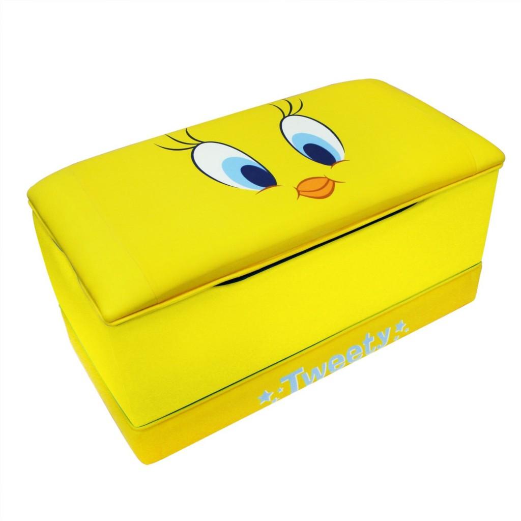 cute tweety bird toy box for kids