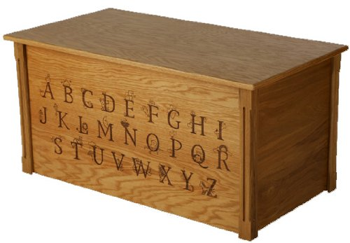 wooden toy boxes