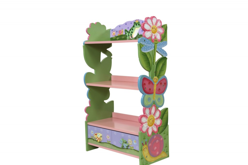 adorable bookshelf for girls