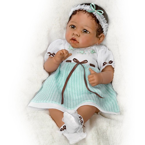 African American Baby Girl Doll