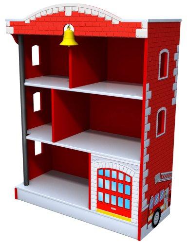 Kidkraft Firehouse Bookcase for Boys