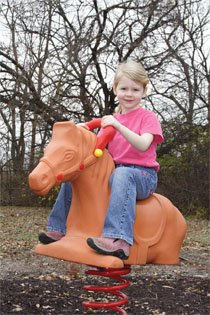 Horse Spring Rider for the Backyard
