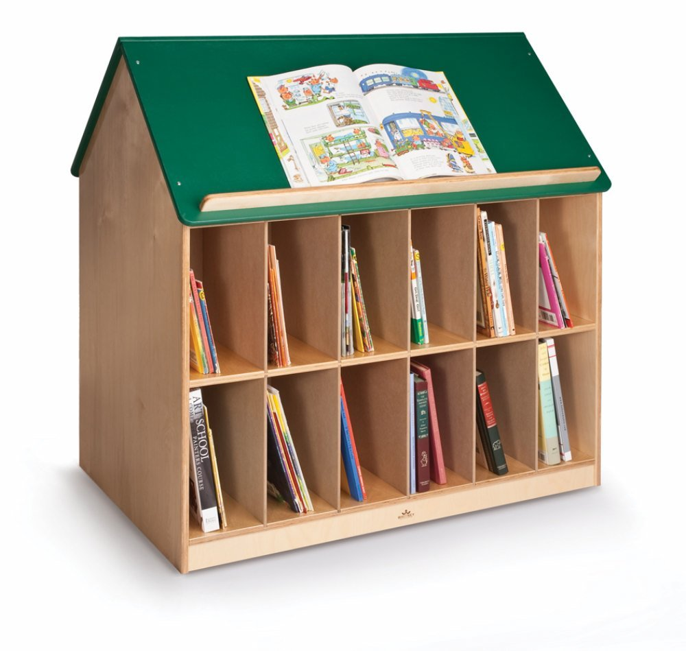 Preschool Book House With Green Roof