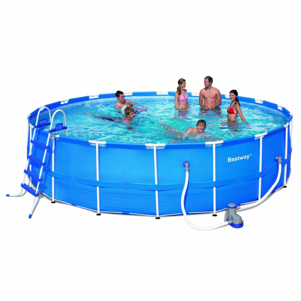Huge Round 18-Feet by 48-Inch Frame Pool