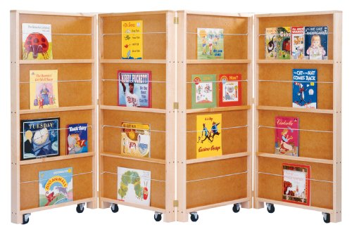 Mobile Library Bookcase for Kids