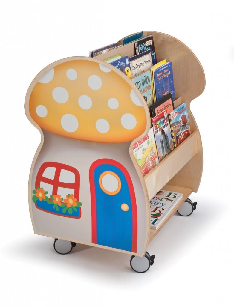 Mushroom House Book Display