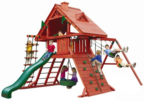 Best Gorilla Cedar Wood Playset