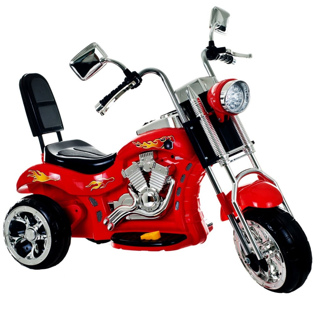 cool chopper bike for kids red