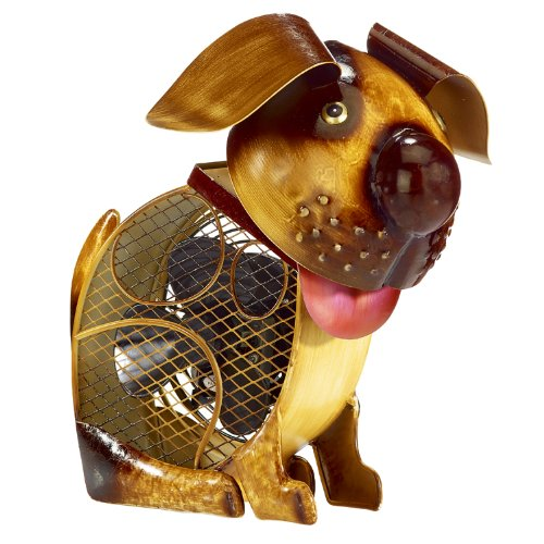 dog shaped deco fan