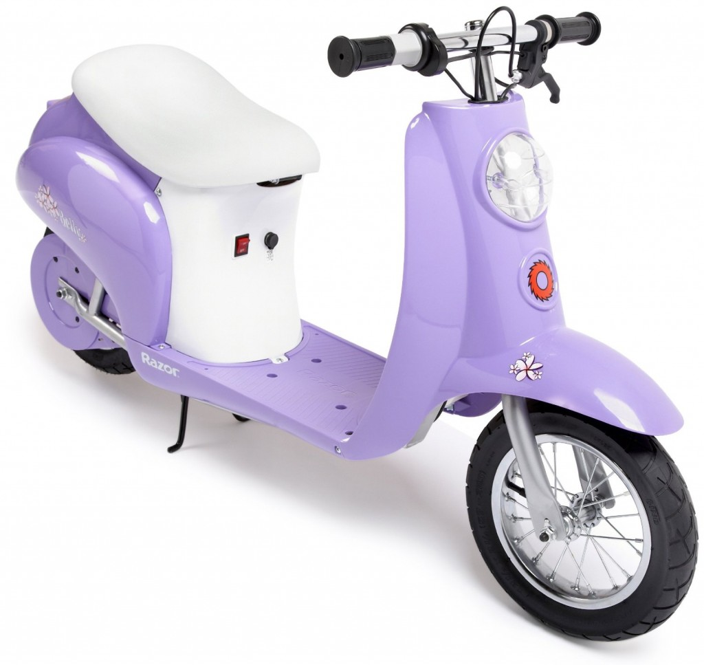 purple scooter for girls