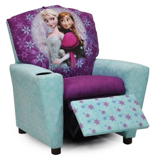 gorgeous Frozen recliner for girls