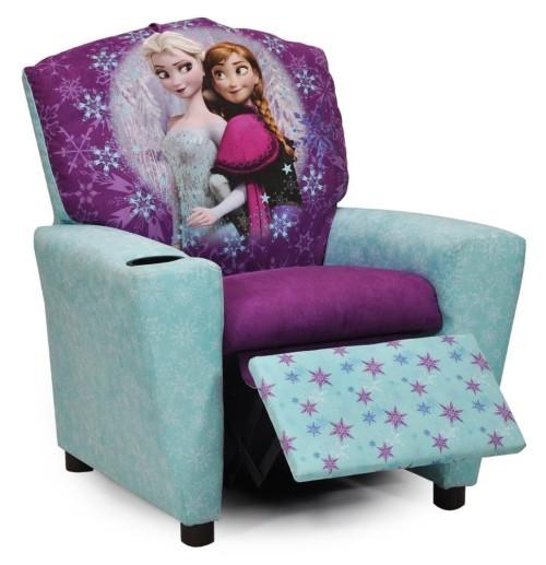 gorgeous Frozen recliner for girls