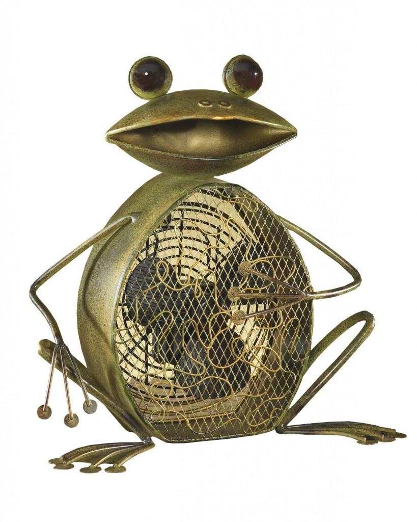 metal frog fan