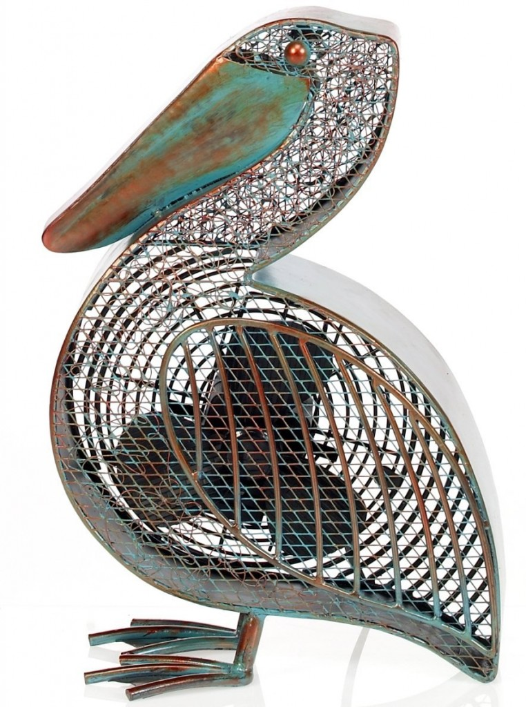 pelican shape deco fan